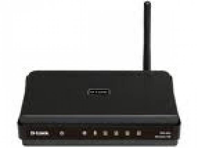 Фото Wi-Fi роутер D-Link DIR-300/NRU. Перейти в секцию Серверы и сети.